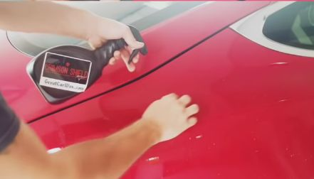 Ceramic Car Coating Paint Protection Detail Including Clay Bar