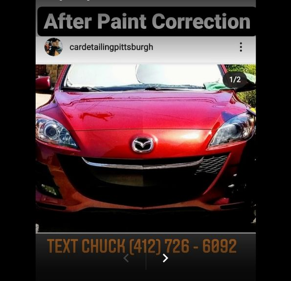 9h Car Ceramic Coating Service by Chuck's Mobile Paint Correction Detailing Pittsburgh