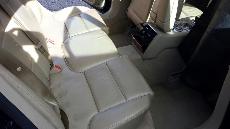 Mobile Auto Detailing Pittsburgh Leather Repair Cream