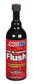 Engine and Transmission Flush by Amsoil - New Oil Prep