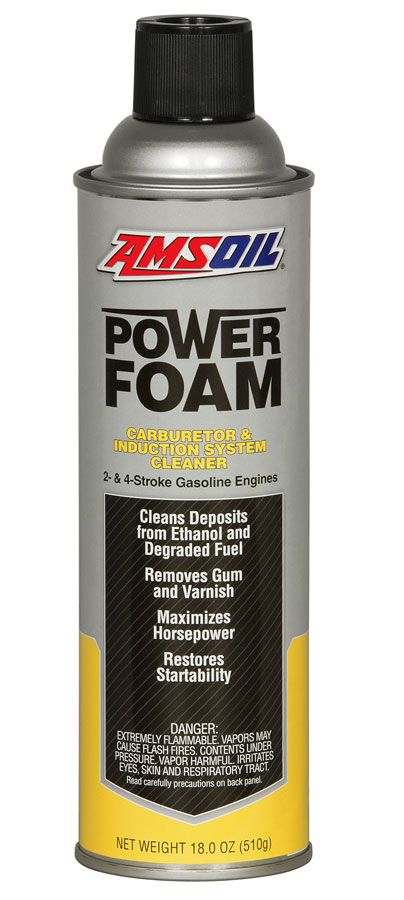 AMSOIL Power Foam - Cleans Intake valves, throttle plates, and carburetors new