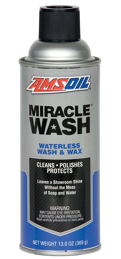 AMSOIL Miracle Wash - Waterless Wash and Wax Spray - Auto Detailing Supplies