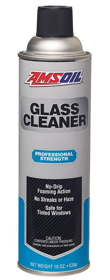 Amsoil Glass Cleaner - Cleans Windows, Mirrors, and Glass Surfaces